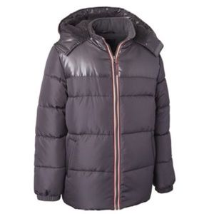 🆕 Ixtreme Big Boys Hooded Puffer Jacket With Hat